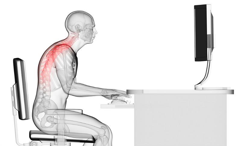poor desk posture